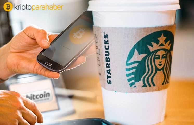 Starbucks müşterileri artık Bitcoin ile ödeme yapabilir