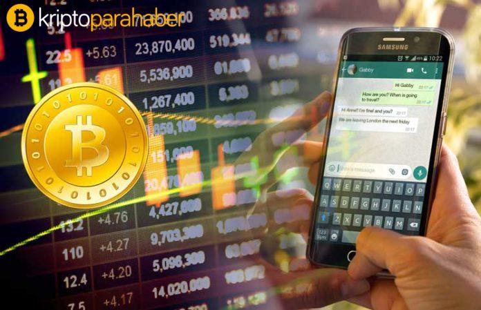 Türkiye'de WhatsApp ile Bitcoin almak artık mümkün!
