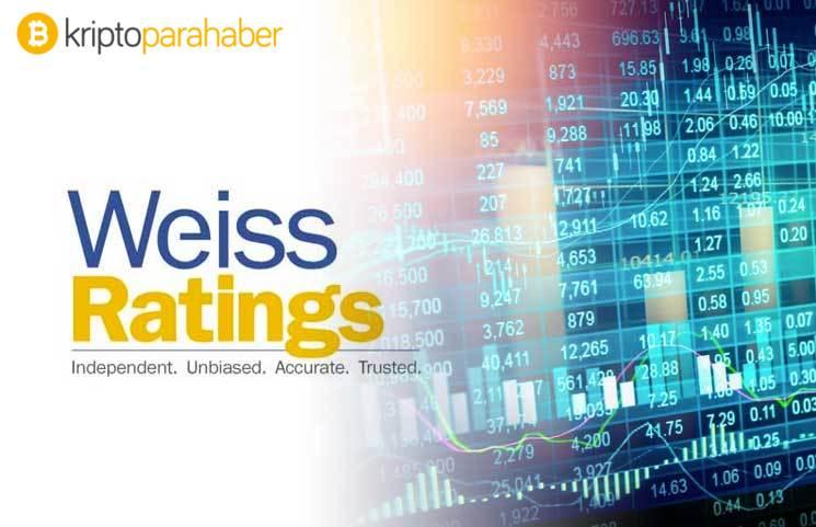 Weiss Ratings, en yüksek notu verdiği kripto para birimlerini açıkladı!