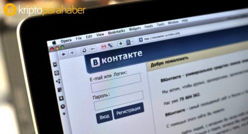 Rus sosyal ağı Vkontakte, Facebook Coin'e rakip oluyor