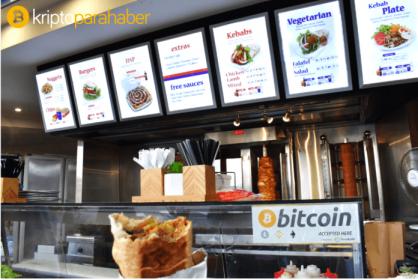 Artık Bitcoin kullanarak kebap satın alabilirsiniz!