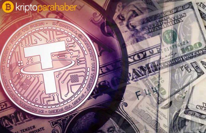 Tether (USDT) aylık 1 trilyon dolar hacmi aşarak rekor kırdı