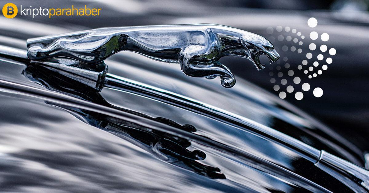 IOTA'dan bir büyük hamle daha: Jaguar, IOTA dünyasını test ediyor