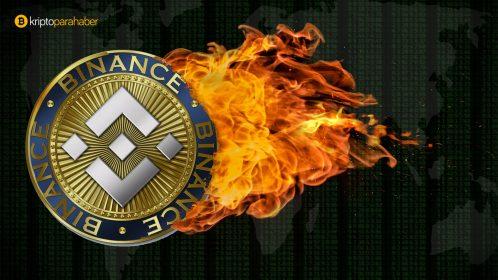 Binance 393,6 milyon dolar değerinde BNB yaktı, bu sefer coin'e etkisi farklı oldu