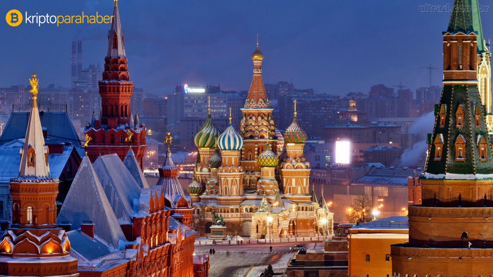 Rusya'dan kripto şirketlerine ban: Yerel borsalar listelemeyecek