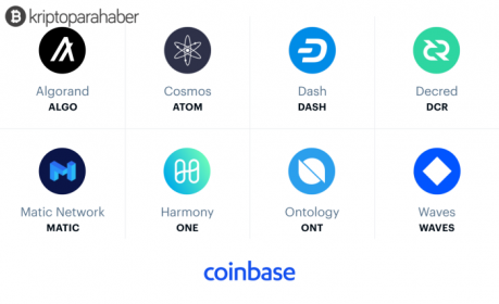 Önde gelen Bitcoin borsası Coinbase, bu 8 altcoin'i listeleyebilir!