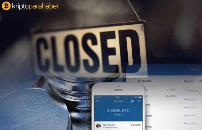 Bir Türk Bitcoin ve kripto para borsası daha kapanıyor!