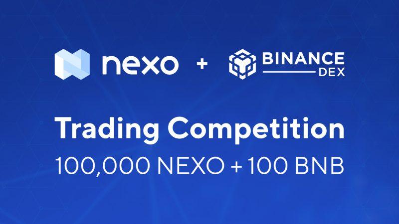 nexo/BNB binance dex