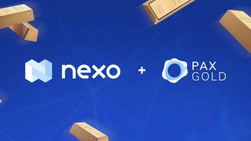 nexo pax gold