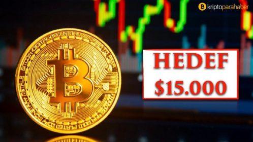 Bitcoin fiyatı için sıradaki hedefin 15.000 dolar olduğunu söyleyen 4 işaret