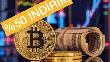İndirimli Bitcoin