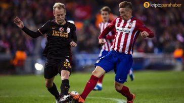 Galatasaray'ın ardından Atletico Madrid de taraftar tokeni çıkardı.