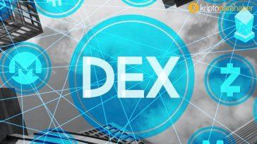 DEX hacimlerindeki tırmanış durdurulamıyor: Geçen ayın toplamını şimdiden geçti