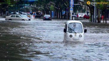 Çin'de yağış mevsimi sona erdi: Bitcoin hash oranı düşüşe geçti