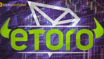 Artık eToro'nun ticaret platformunda popüler iki altcoin'i stake edebilirsiniz