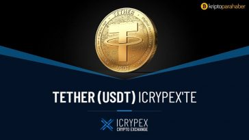 Tether (USDT) Icrypex'te!