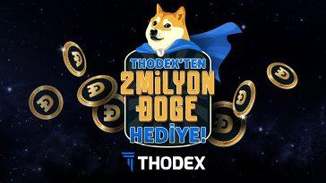 Thodex, Dogecoin dağıtıyor.