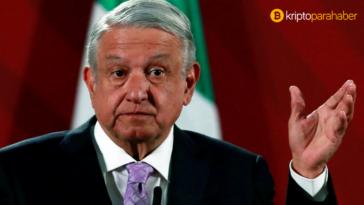 Meksika Devlet Başkanı, Bitcoin'i resmi para olarak tanımayı düşünmüyor