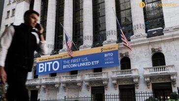 ProShares Bitcoin ETF, 18 yıllık rekoru kırdıktan sonra altını geride bıraktı